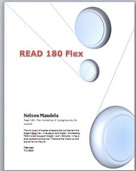 Nelson Mandela - Read 180 rBook Flex (Workshop 3) English1