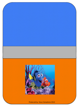 Nemo Teacher Binder Set