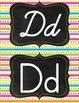 Neon Bright multicolor rainbow dots stripes manuscript pri