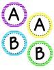 Bulletin Board Letters: Neon