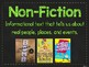 Neon Chalkboard Genre Posters {5-8 Middle School}