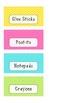 Neon Chevron Teacher Toolbox Labels