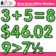 Neon Green Math Numbers Clip Art {Great for Classroom Deco