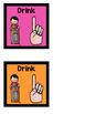 Neon Hand Signals
