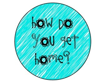 Neon How Do You Get Home Posters