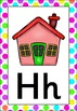 Neon Themed Alphabet Posters Frieze {UK Teaching Resource}