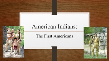 Neponset- Native American PowerPoint