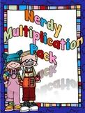 Nerdy Multiplication Pack