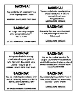 Nervous System Bazinga Review Game