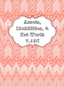 Net Worth, Assets, & Liabilities