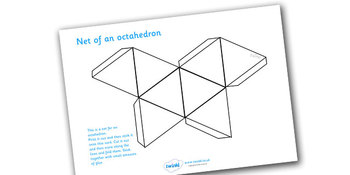 Net of a Octahedron