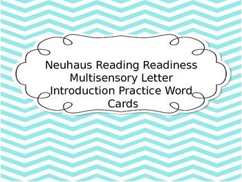 Neuhaus Reading Readiness Multisensory Letter Introduction