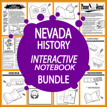 Nevada History Bundle of 7 COMPLETE Lessons