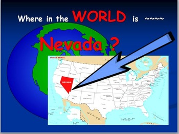 Nevada Map: Where is Nevada ?