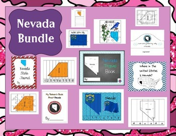 Nevada Themed Bundle- 13 resources
