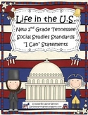 """New 2014 2nd Grade Tennessee Social Studies Standards """"I C"""