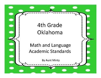 New 2016-2017 Oklahoma Fourth Grade Math Academic Standard