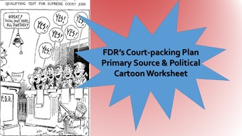 New Deal Court Packing Plan Primary Source & Political Car