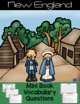 New England Colonies Mini Book