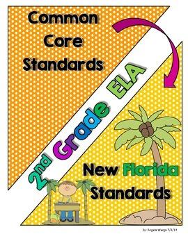 New Florida ELA Standards Compared to CCSS - 2nd Grade