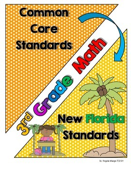 New Florida Math Standards Compared to CCSS - 3rd Grade