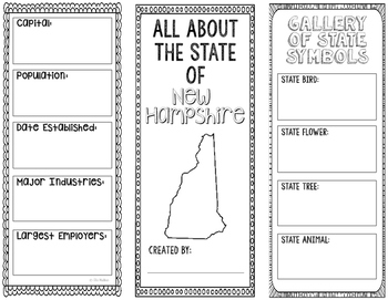 New Hampshire - State Research Project - Interactive Noteb