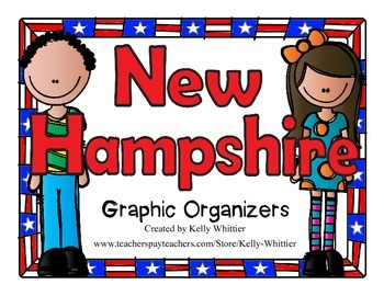 New Hampshire Graphic Organizers (Perfect for KWL charts a