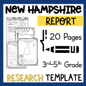 New Hampshire State Research Report Project Template with