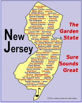 New Jersey Famous Singers