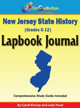 New Jersey State History Lapbook Journal