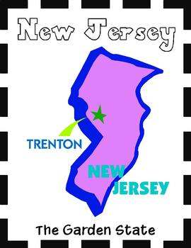 New Jersey State Symbols and Research Packet