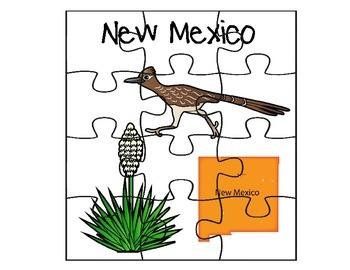 New Mexico Puzzle Set