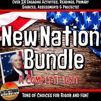 New Nation First Five Presidents Complete Unit Bundle