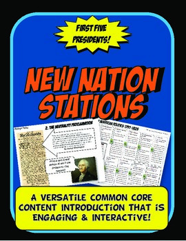 New Nation Stations Flow Chart Activity & Graphic Organizer