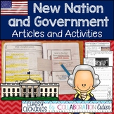 New Nation and Government Nonfiction Articles with Activit