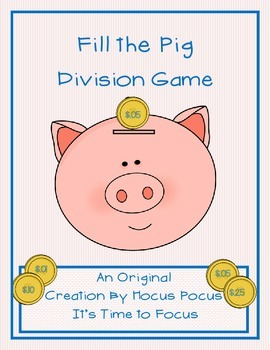 New Series Fill the Pig Division Game Original Creation 3r
