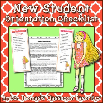 New Student Orientation Preparation System with Printouts