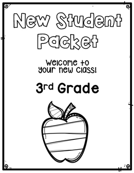 New Student Packet