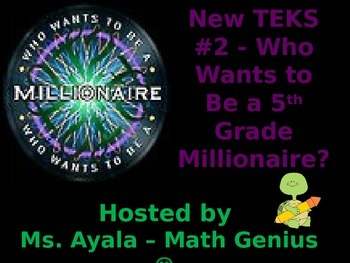New TEKS #2  - 5th Grade Who Wants to Be A.. STAAR Review