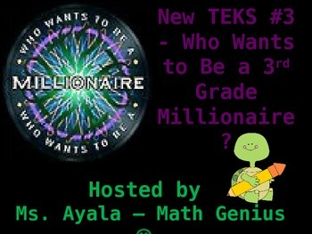 New TEKS #3 - 3rd Grade Who Wants to Be...STAAR Review Qui