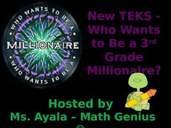 New TEKS - 3rd Grade Who Wants to Be A Millionaire STAAR R