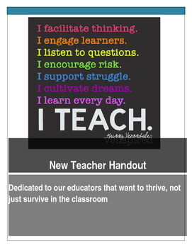 New Teacher Manual