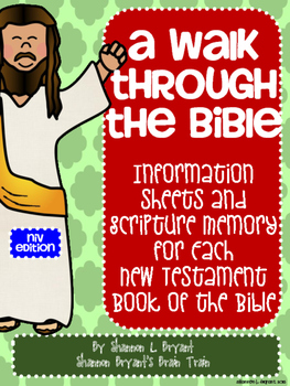 New Testament Bible Verses and Background Info (NIV School