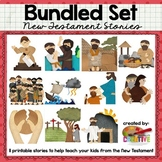 New Testament Interactive Bible Storytelling Printables {G