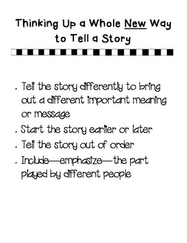 New Way to Tell a Story