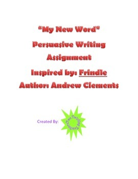 New Word Persuasive Writing