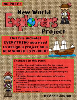 New World Explorer Project: Social Studies Exploration Res