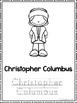 New World Explorers Coloring Book worksheets.  Preschool-2