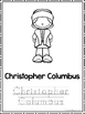 New World Explorers Coloring Book worksheets.  Preschool-2