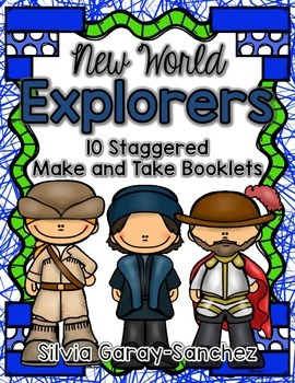 New World Explorers Staggered Booklets
